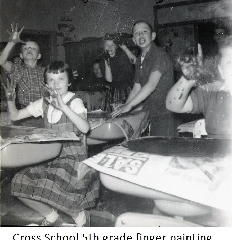 14 1961 5th Grade finger painting.JPG