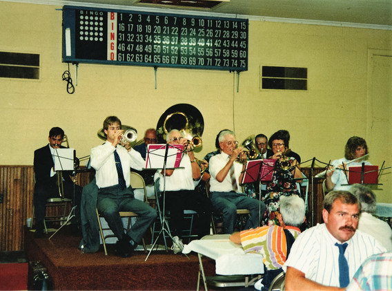 13 Last Known Picture of Cross Band 1991