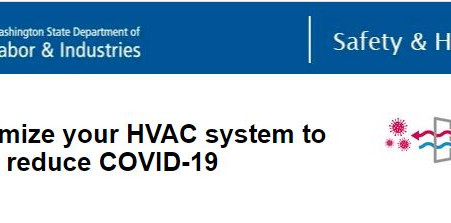 Is your workplace (HVAC) system optimized to reduce the risk of exposure to COVID-19?
