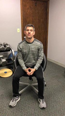 Weekly HealthTip: Workplace Desk Stretch