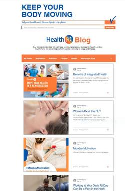 Blog Content Management