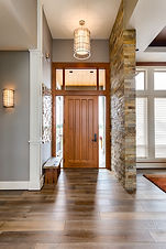 Elegant  Front Door and Entry in New Lux