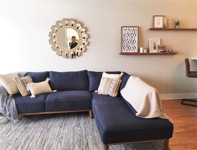 Comfortable sectional (new)