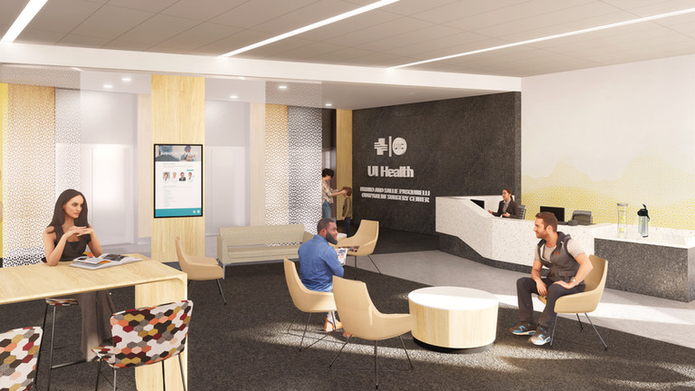 University of Illinois Hospital and Clinics - Interior