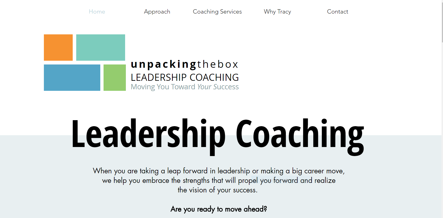 unpackingthebox leadership coaching
