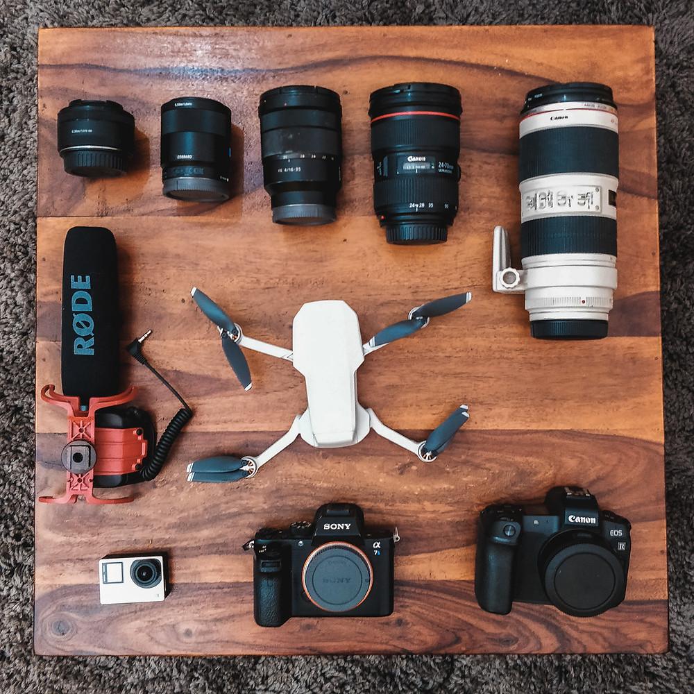 Camera Equipments