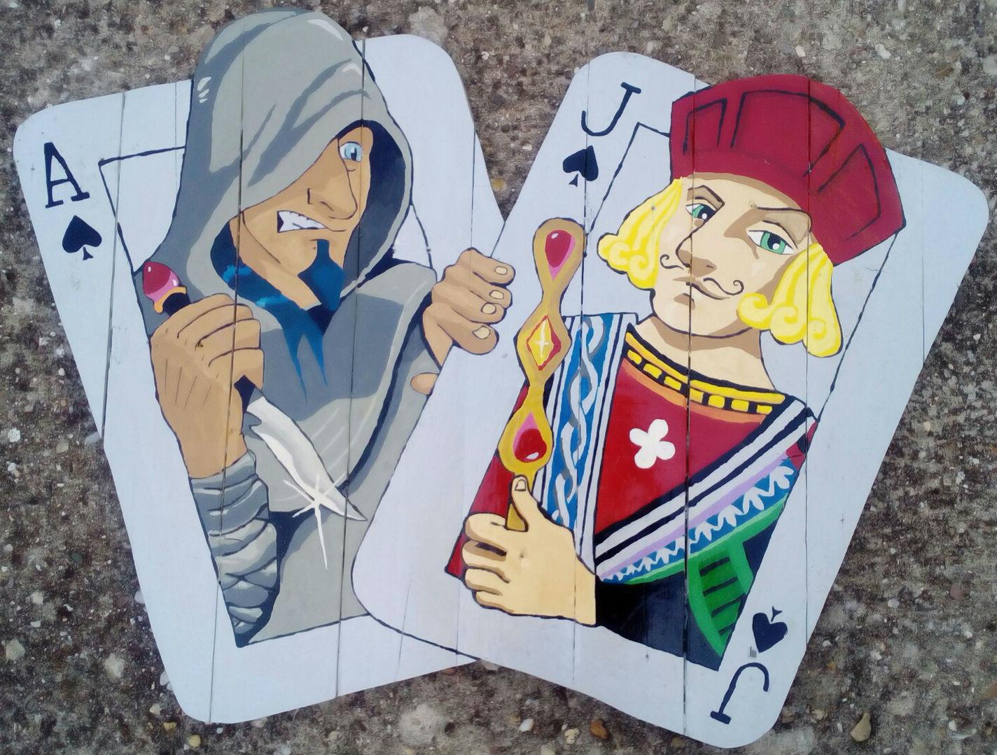Lucha de Poker
