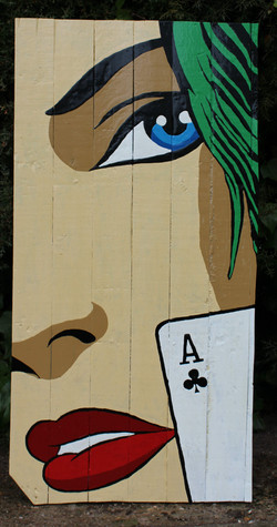 The Face & The Poker