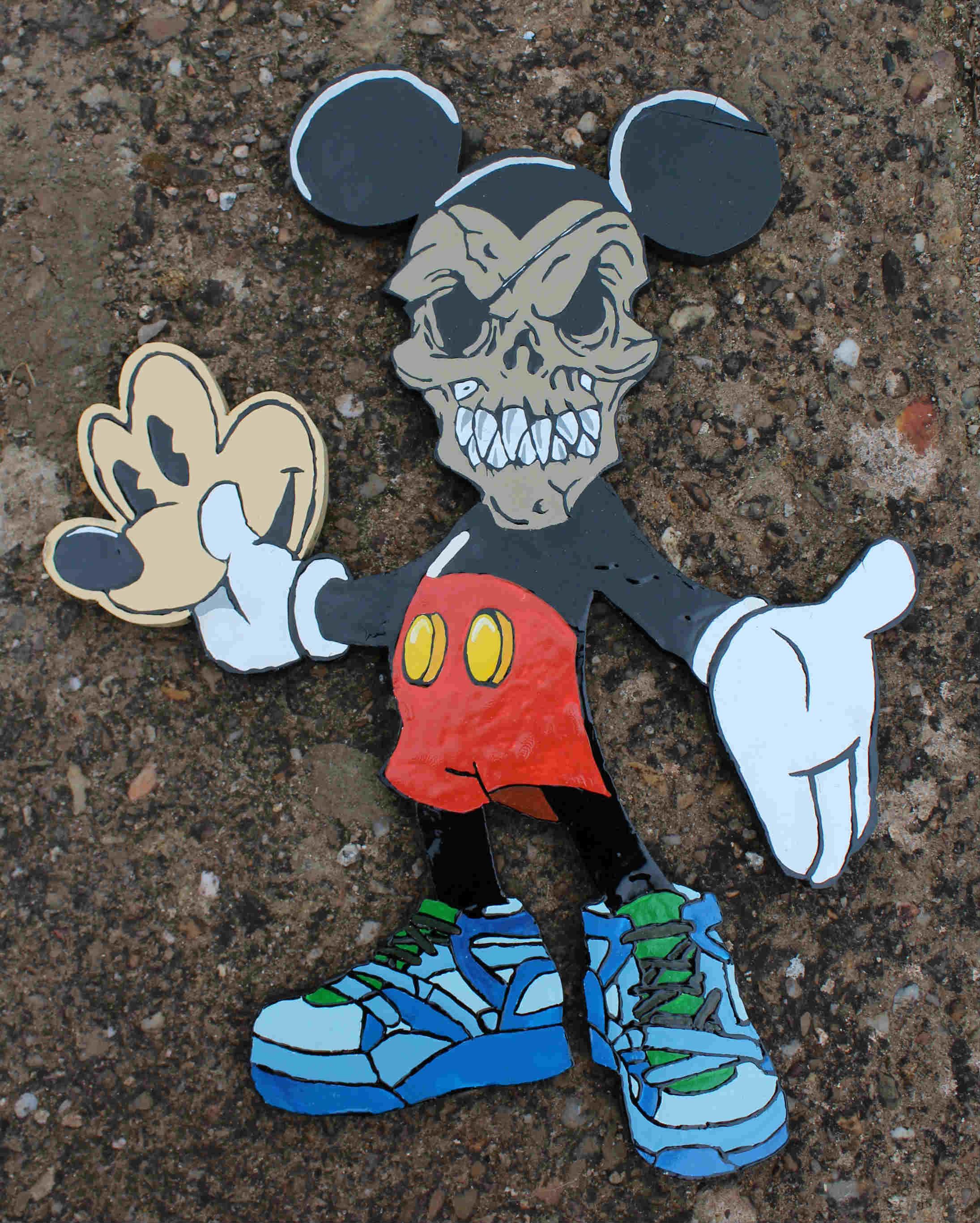 La verdadera cara de Mickey