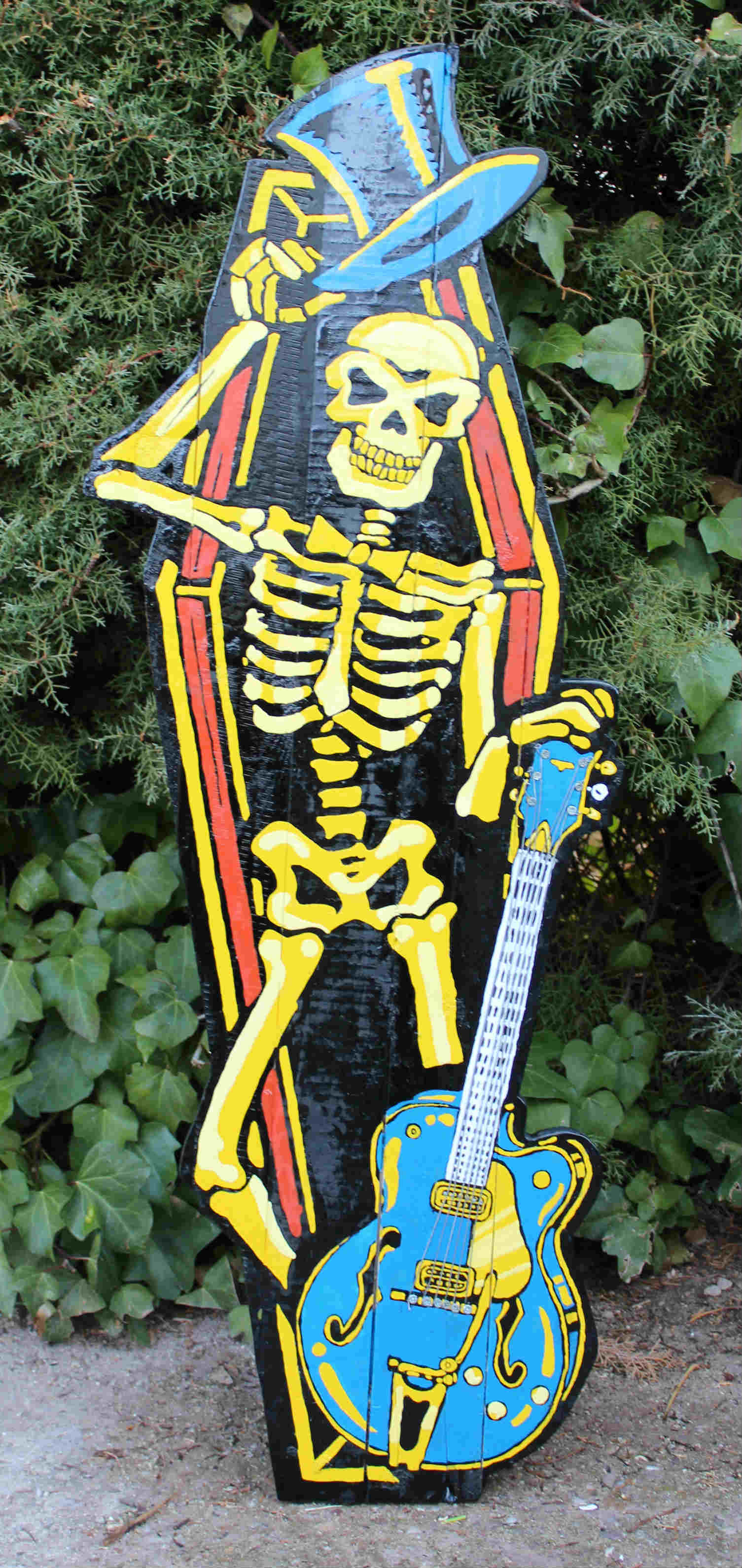 Skull & Guitar