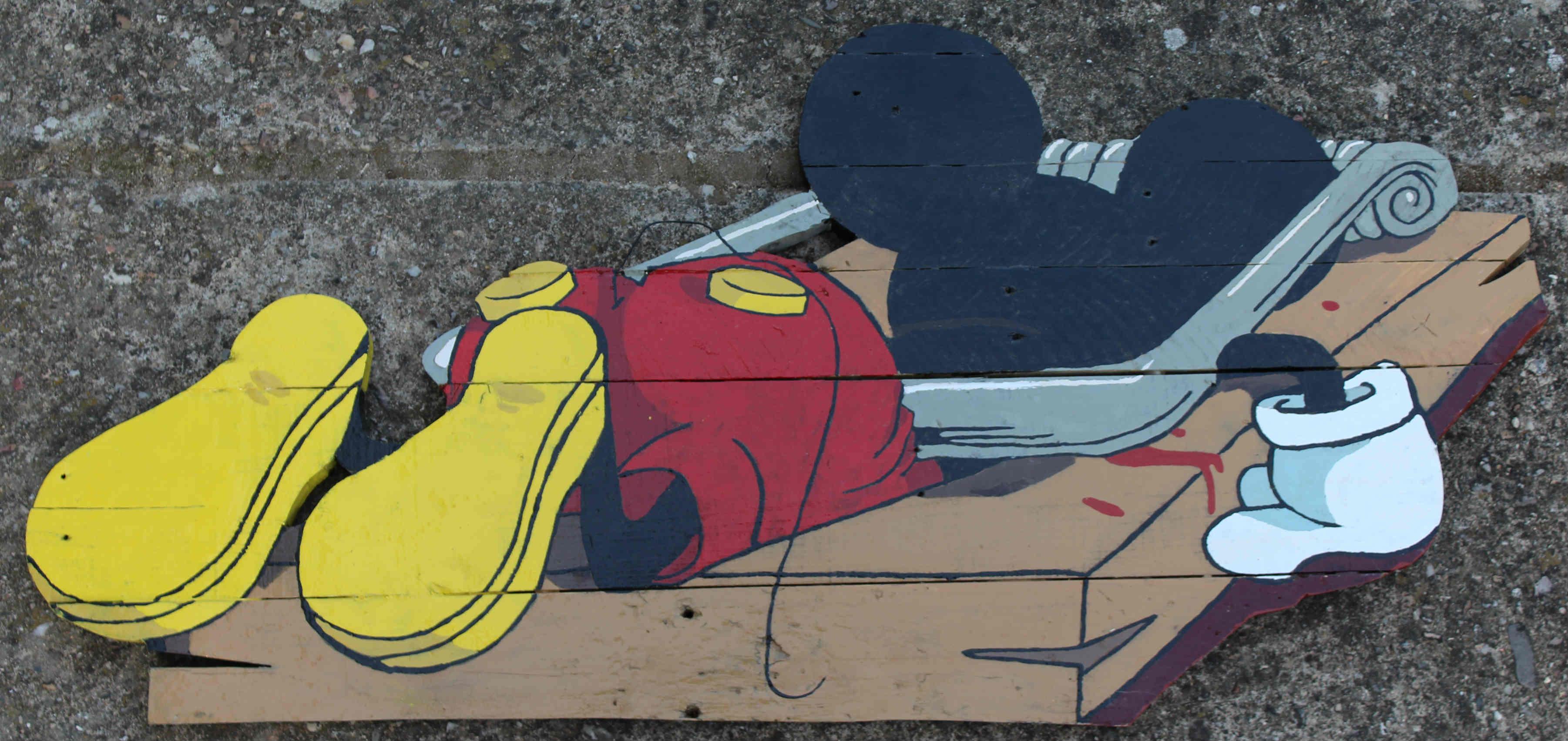 Bye, bye.....Mickey