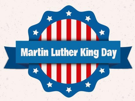 Martin Luther King, Jr. Day January 18, 2021