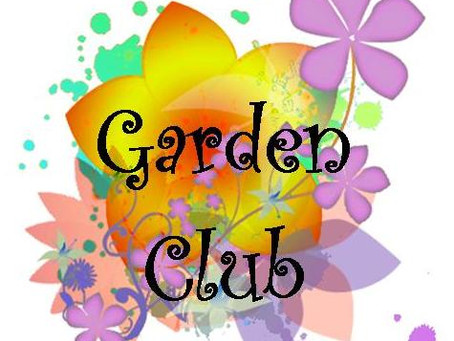Garden Club is Back!!!!