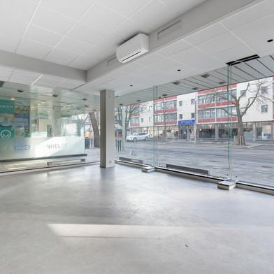 Første etasje, gateplan