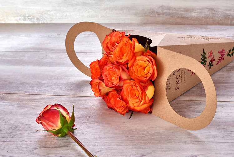 cajas para flores personalizadas