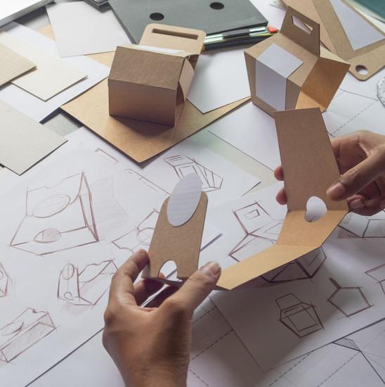 Diseño de empaques de cartón en Lima - P