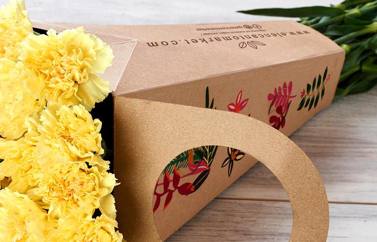 cajas personalizadas para flores