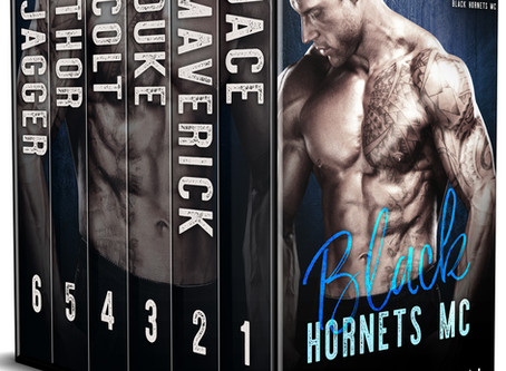 Today is the last day to get the entire Black Hornets MC set for $3.99!