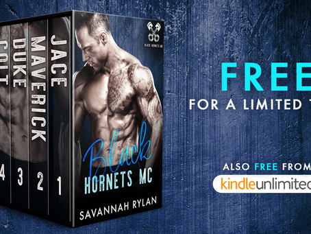The Black Hornets MC Box Set is FREE for a limited time!