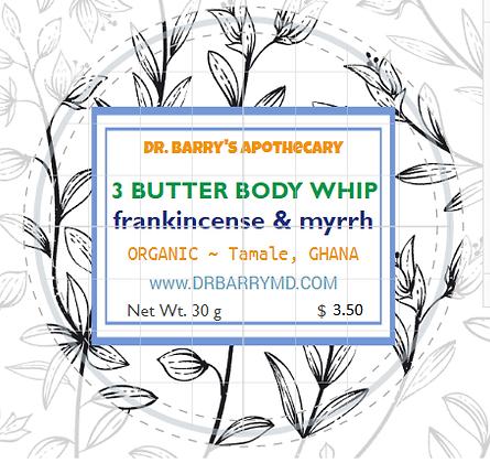 3 Butter Body Whips