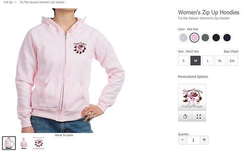Seven Sisters Farm Pink Zip Up Hoodie