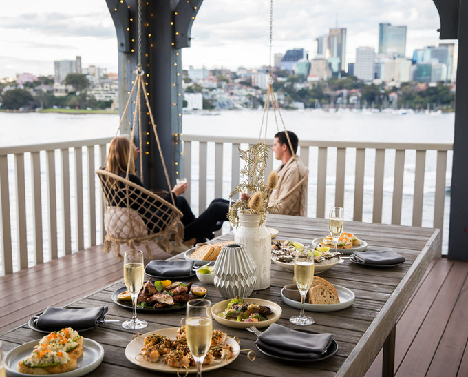 Harbour Bridge Balcony Suite Alfresco Dining
