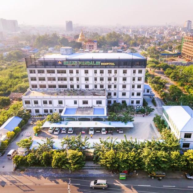 Bệnh viện Grand Mandalay - Myanmar