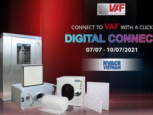 Viet Air Filter Tham Gia Triển Lãm HVACR VIET NAM 2021 (Digital Connect) 07/07/2021 - 10/07/2021