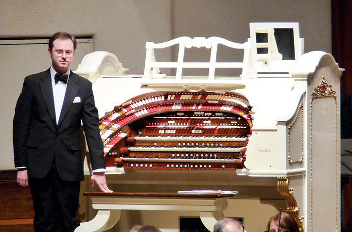Richard Hills and the Worthing Wurlitzer