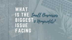 Biggest Issue Facing Small Business/Nonprofits?