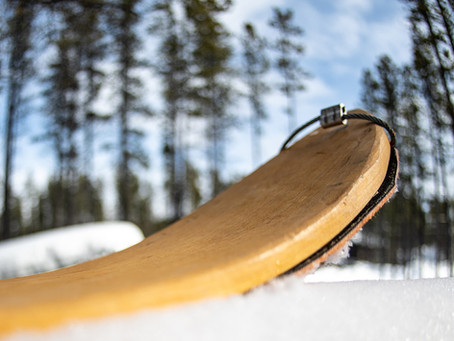 Anti-Crevasse Skis