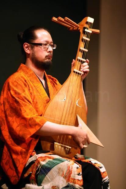 琵琶語り 壇之浦