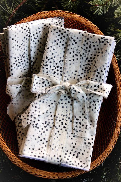 Contemporary Dots Cloth Napkins