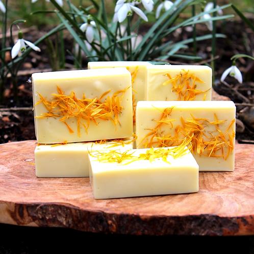 Organic Calendula Soap Bar