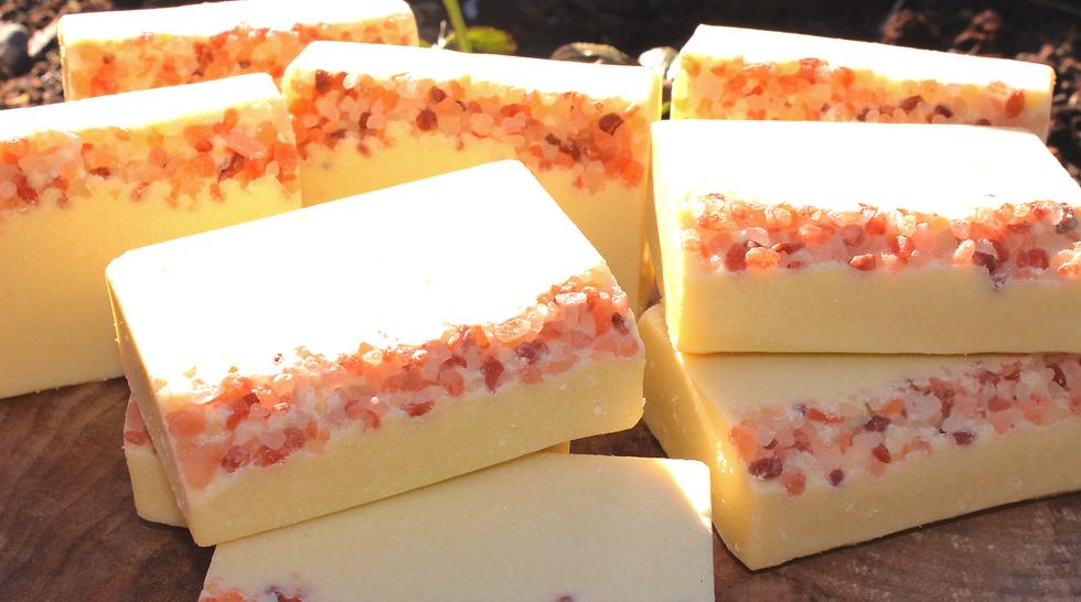pure organic salt soap