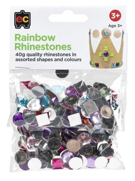 Rainbow Rhinestones 40g