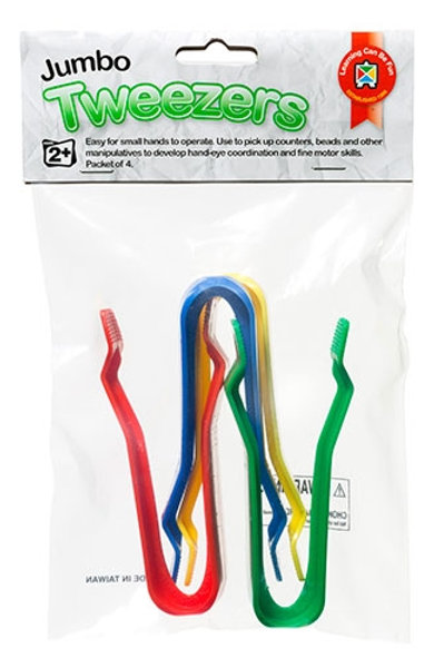 Jumbo Tweezers Hangsell Packet of 4