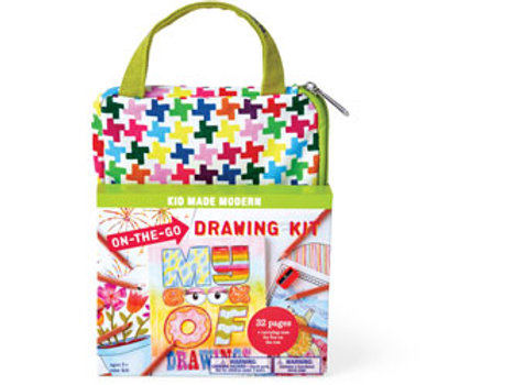 Kid Made Modern - On-The-Go Drawing Kit