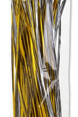 Twistable Ties Gold and Silver 25cm Packet 150