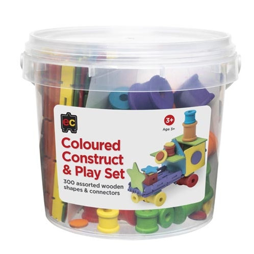 Coloured Construct and Play Set