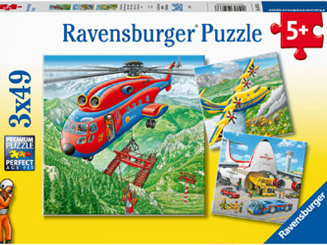 Ravensburger - Above the Clouds 3x49 pieces