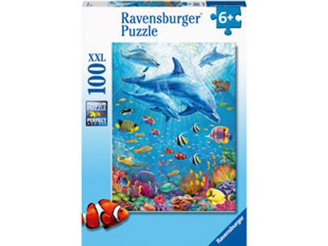 Ravensburger - Pod of Dolphins 100 pieces