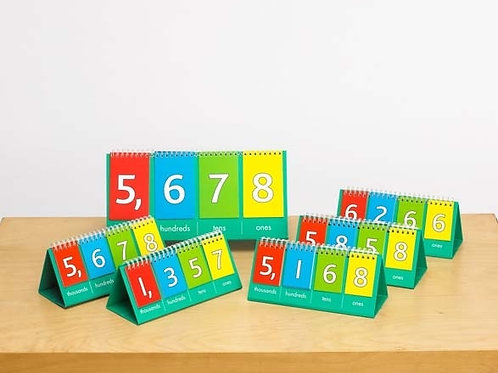 Learning Can Be Fun - Place Value Flip Charts (10 pack)