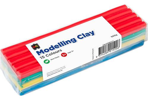 Modelling Clay 500gm Multicoloured Cello Wrapped