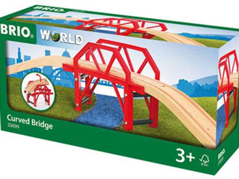 BRIO Bridge - Curved Bridge, 4 pieces