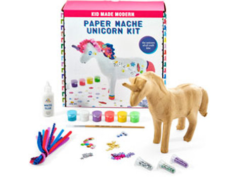 Kid Made Modern - Paint Your Own Paper Mache Unicorn