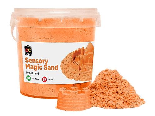 Sensory Magic Sand 1kg Tub Orange