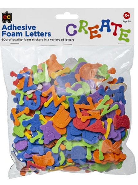 Adhesive Foam Letters 60gm