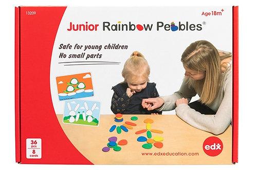 Junior Rainbow Pebbles Early Construction Set