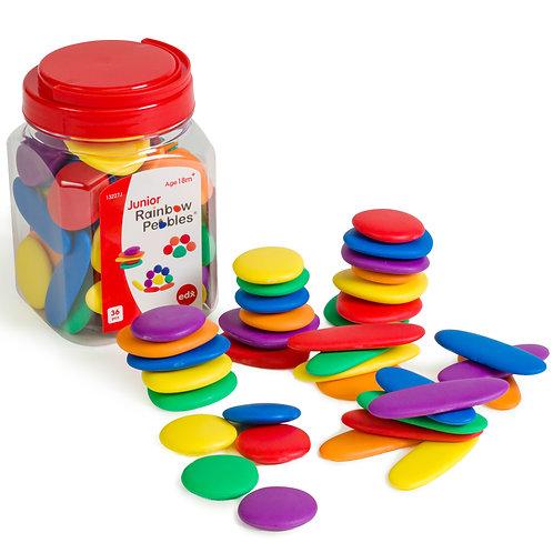 Junior Rainbow Pebbles Jar of 36